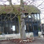 façade de l'ATELIER DANS LA COUR 16 Rue St Roch 21400 Chamesson