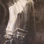 peinture acryl sur toile ht 240 cm