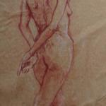 croquis et dessins de nu, modèles vivants, différentes périodes.